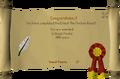 Ernest the Chicken reward scroll.png