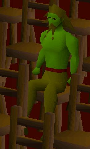 Strange watcher (green)