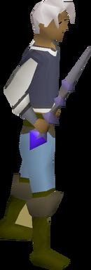 Kodai wand equipped