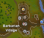 Barbarian Village map