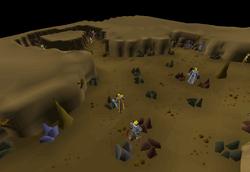Mining Guild member's area