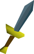 Rune dagger detail
