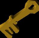 Giant key detail