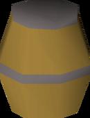 Barrel bomb detail