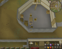 Cryptic clue - search boxes south entrance varrock
