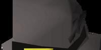 Black leprechaun hat