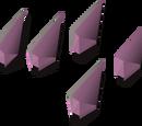 Amethyst arrowtips