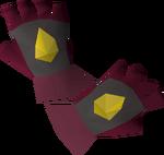 Samurai gloves detail