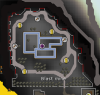 Blast mine map