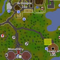 'The Guns' map