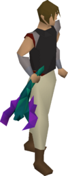 Toxic blowpipe (empty) equipped
