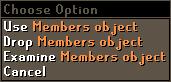 Members object