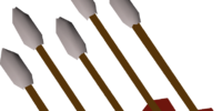 Iron fire arrows