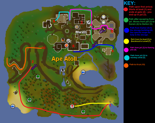 Monkey Madness map