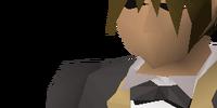 Dark tuxedo outfit
