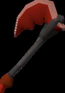 Infernal axe detail