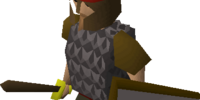 Billy, a guard of Falador