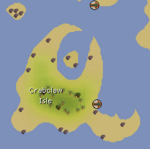 Crabclaw Isle map
