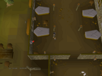 Cryptic clue - search coffin edgeville