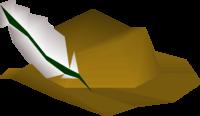 Tan cavalier detail