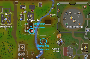 Edgeville dungeon alternative entrance location