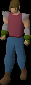Ranger gloves equipped