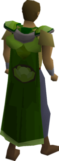 Cabbage cape equipped