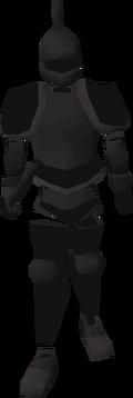 Animated Black Armour