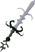 Bandos godsword (or) detail