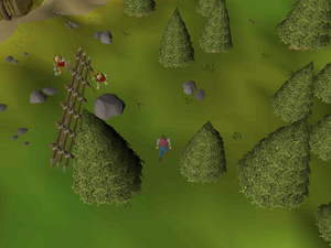 Hot cold clue - north of Miazrqa's tower