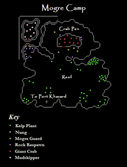 Mogre Camp Map