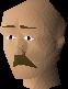 Small moustache chathead