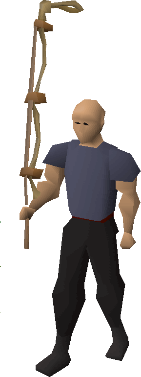 Noose wand equipped