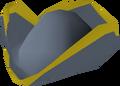 Crier hat detail
