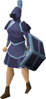 Mithril trimmed set (sk) equipped