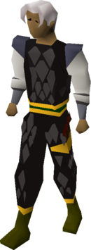 Black d'hide (g) set equipped
