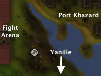 Fight Arena mine map