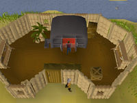 Cryptic clue - dig shilo furnace