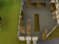 Cryptic clue - search crates port sarim fishing