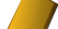 Gilded sq shield