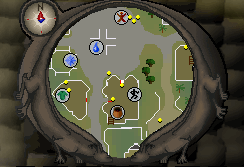 Varrock Agility Course Map