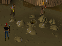 Barbarian Village mining site
