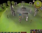Emote clue - cheer druid circle