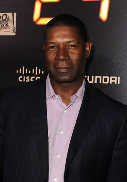 24- Dennis Haysbert at Fox 24 Series Finale & Party