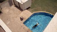 In1x16 body in pool