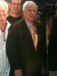 24 John McCain Cameo Filming