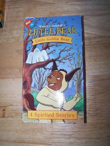 Little Bear Little Goblin Bear VHS