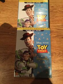 Toy Story Blu ray DVD 2010 2 Disc Set Special Edition DVD Blu-ray
