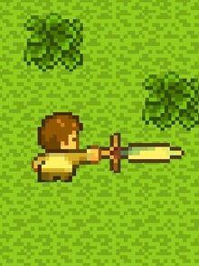 Player Using Sword