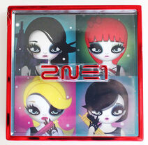 2NE1 2ND MINI Physical